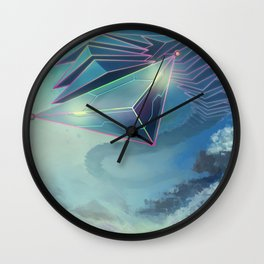Shadow of the discolossus Wall Clock
