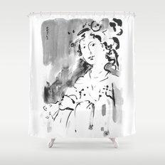 Saskia #2 Shower Curtain
