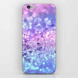 Summer Unicorn Girls Glitter #2 #shiny #pastel #decor #art #society6 iPhone Skin