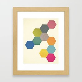 Honeycomb I Framed Art Print