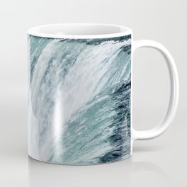 Landscape Photography | Niagara Falls | Waterfall | Aqua | Mist | Fog | Blue | Marine Coffee Mug