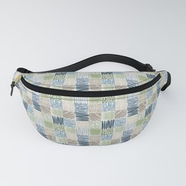 Jungle Set | hand illustrated quilt pattern Fanny Pack
