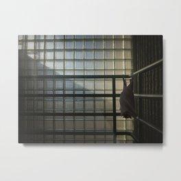 Cornered Bat Metal Print