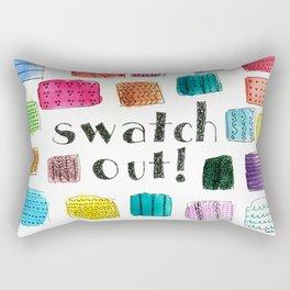 Swatch Out! Rectangular Pillow