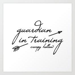 Guardian in Training Art Print