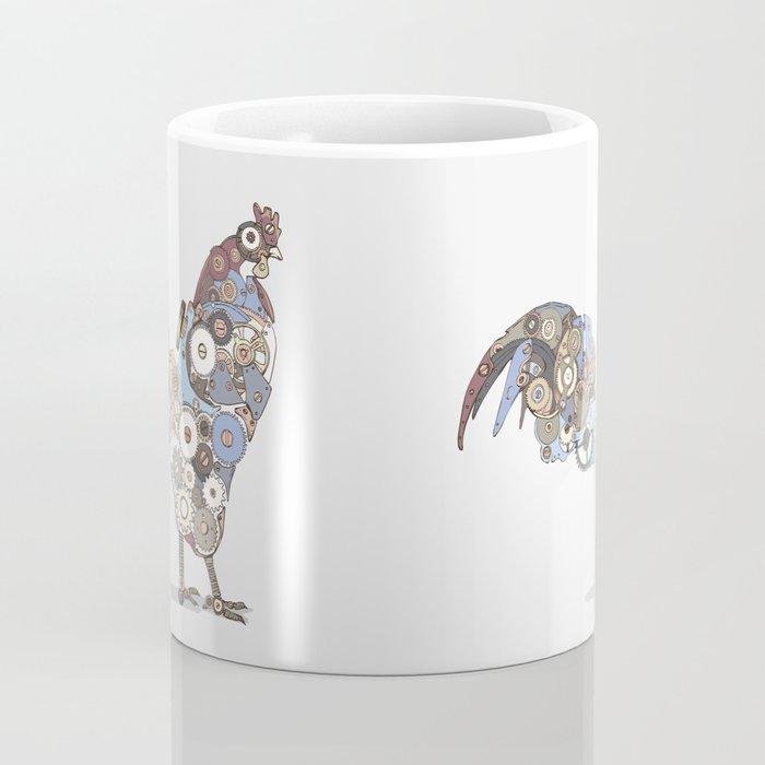 Chicken Alarm Coffee Mug
