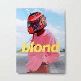 Blond Pink Metal Print