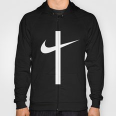 Swoosh Cross (... And Deliver Us From Evil) / White Hoody
