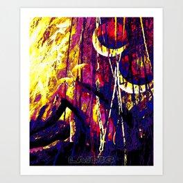 Lachesis' Fantoccini Remix Art Print