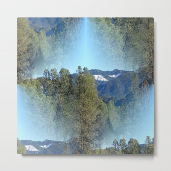 In the mountains... Metal Print