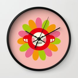 Redmon Flower Wall Clock