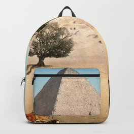 Vintage Pyramid : Grand Pyramid Gizeh Egypt 1895 Backpack
