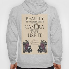 Say Cheese! collection: vintage folding camera Hoody