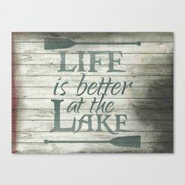 Lake Life Canvas Print