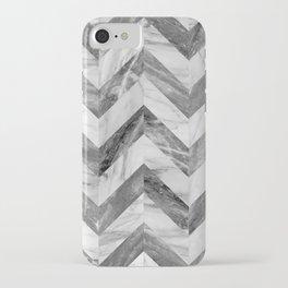 Marble Chevron iPhone Case