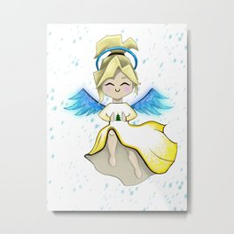 Snow Angel Metal Print