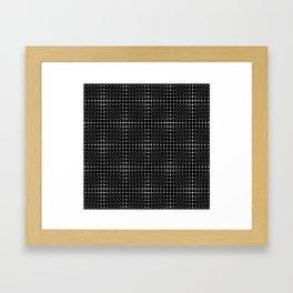 Energy Vibration 3. Frequency - Chladni - Cymatics Framed Art Print