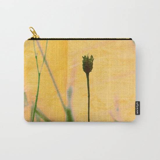 Polaroid photo yellow flower Carry-All Pouch