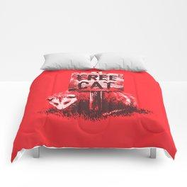 Free cat Comforters
