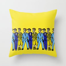 file 025. true colors Throw Pillow