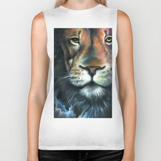 Lion in the Clouds Biker Tank