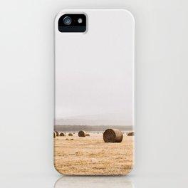 Van Diemens Land Bundles of Hay iPhone Case