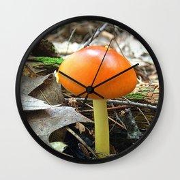Mushroom P Wall Clock