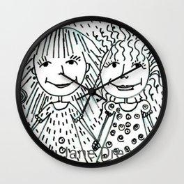 Love Life Laugh Wall Clock