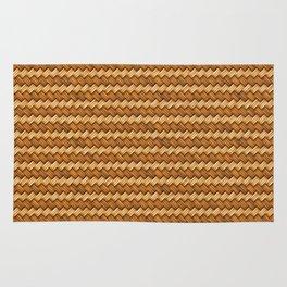 Basket Weave Pattern Rug