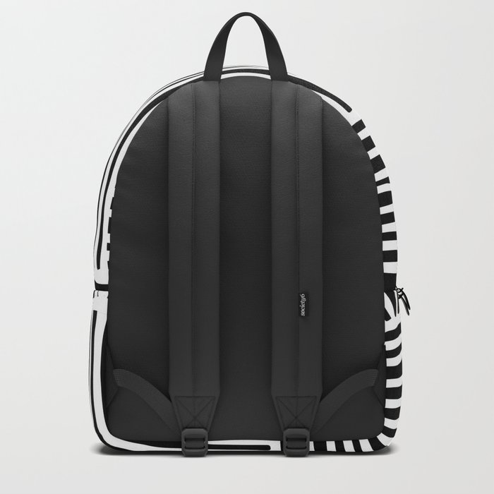 Crossed Lines II Backpack