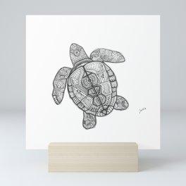 Sharpie Turtle Mini Art Print