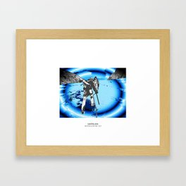 MOUNTAIN GLACIER TOUR II Framed Art Print