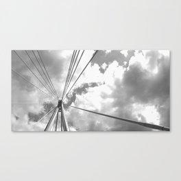 London Sky Architecture Canvas Print