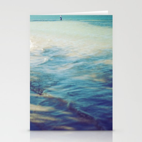 Fisherman in the distance, Mauritius II Stationery Cards