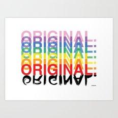 Original. Art Print