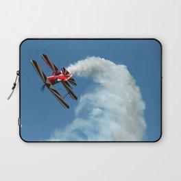 Spinning Biplane Laptop Sleeve