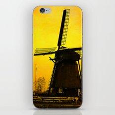 Dutch Windmill iPhone & iPod Skin