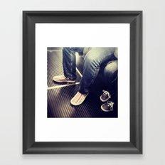 1j Framed Art Print