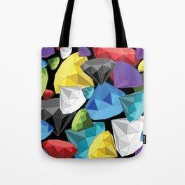 Origami Diamonds tumbled Tote Bag