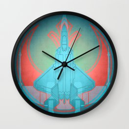 Into the future USAF F22 Wall Clock