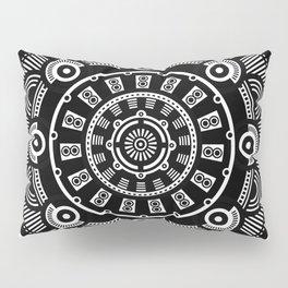 Modern Mandala (Black & White) Pillow Sham