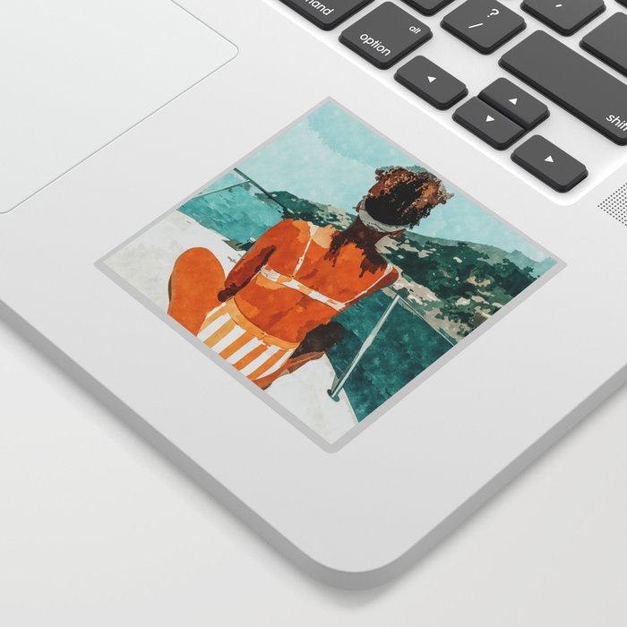 Solo Traveler Sticker