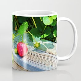 Strawberry Plants Coffee Mug