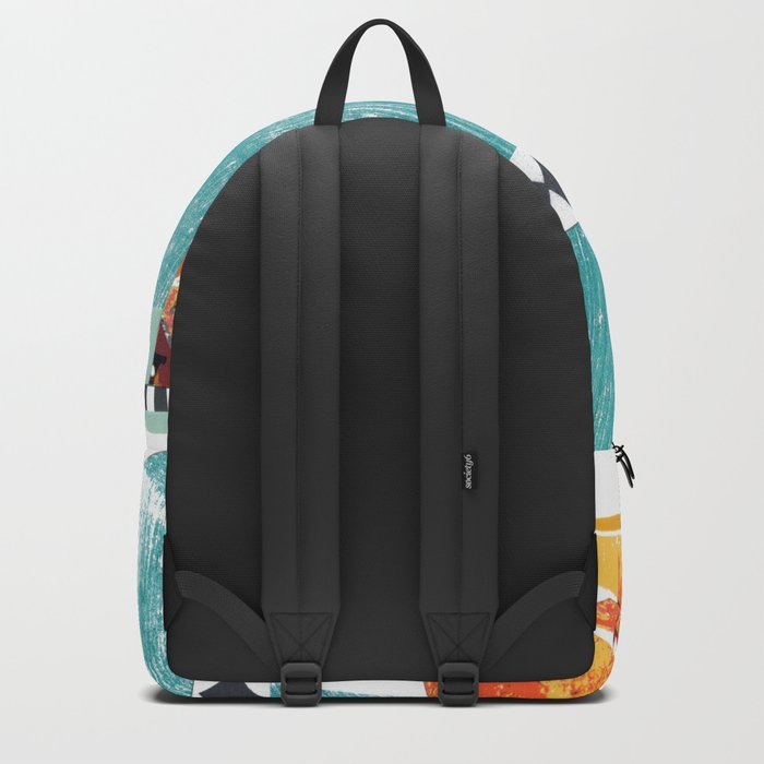 Moving Parts Collage Backpack