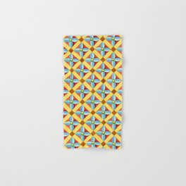 Heraldic Quatrefoil Lozenge Hand & Bath Towel