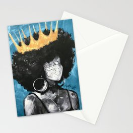 Naturally Queen II BLUE Stationery Cards
