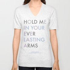 Vampire Weekend - HOLD ME IN YOUR EVERLASTING ARMS Unisex V-Neck
