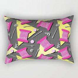 Memphis Sewing Rectangular Pillow