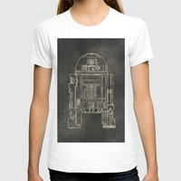 r2d2 T-shirts featuring R2D2 by LindseyCowley