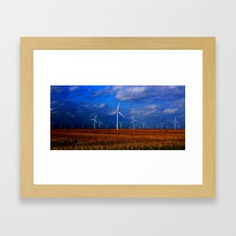 Tilting @ Framed Art Print